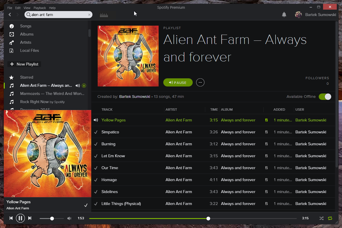 Always And Forever Spotify